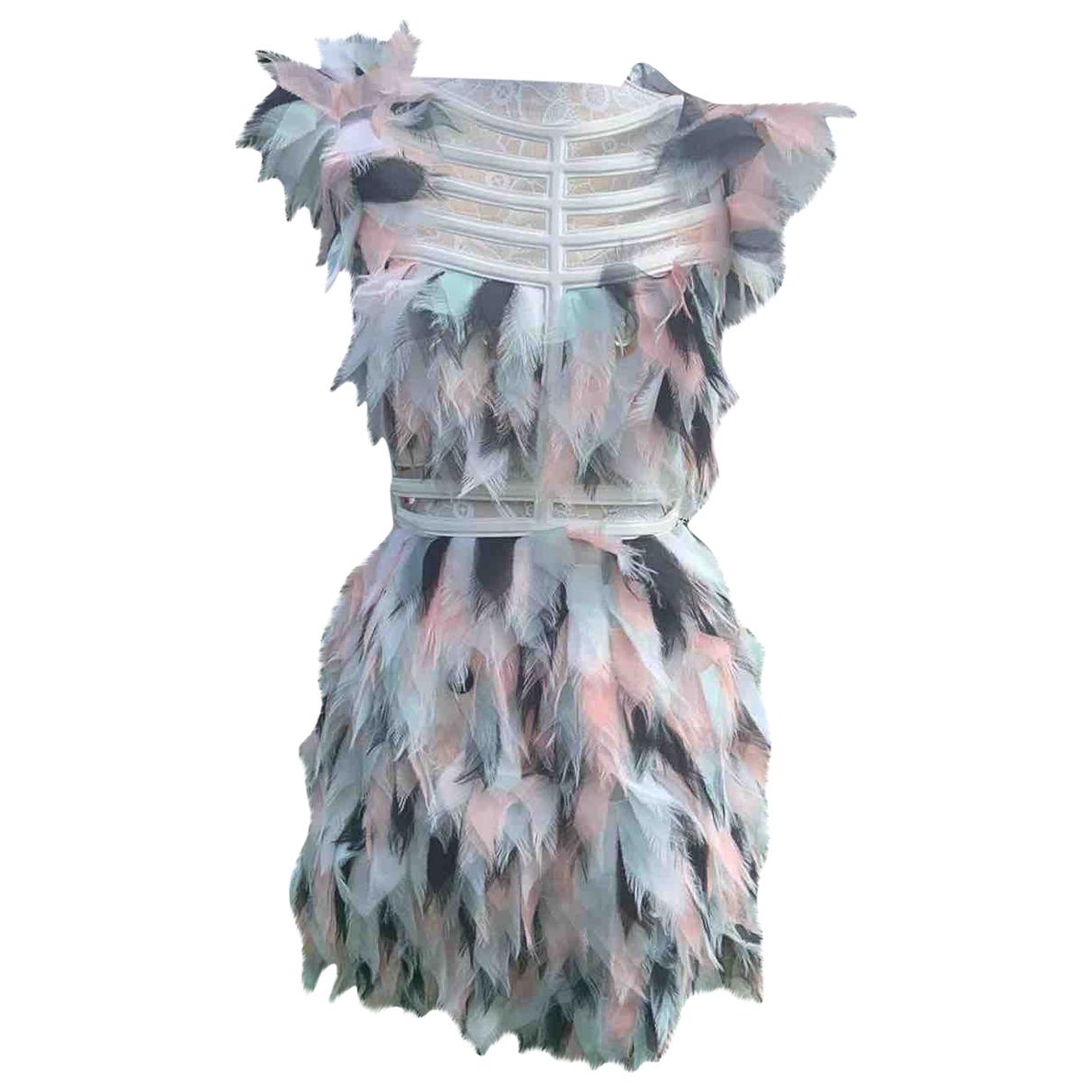 Fendi \N White Silk dress for Women 40 IT