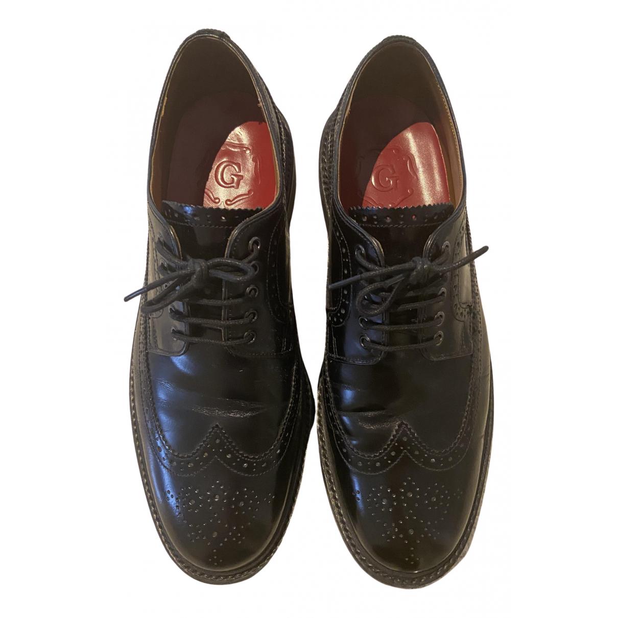 Grenson - Derbies   pour homme en cuir - noir