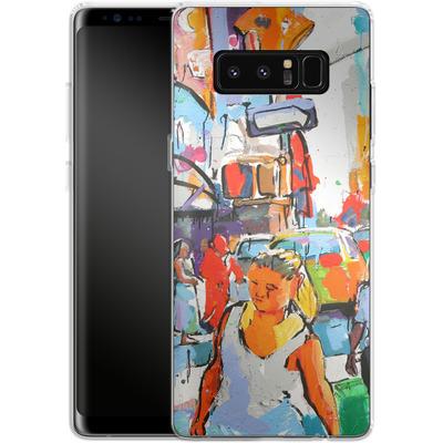 Samsung Galaxy Note 8 Silikon Handyhuelle - My Favorite Corner von Tom Christopher