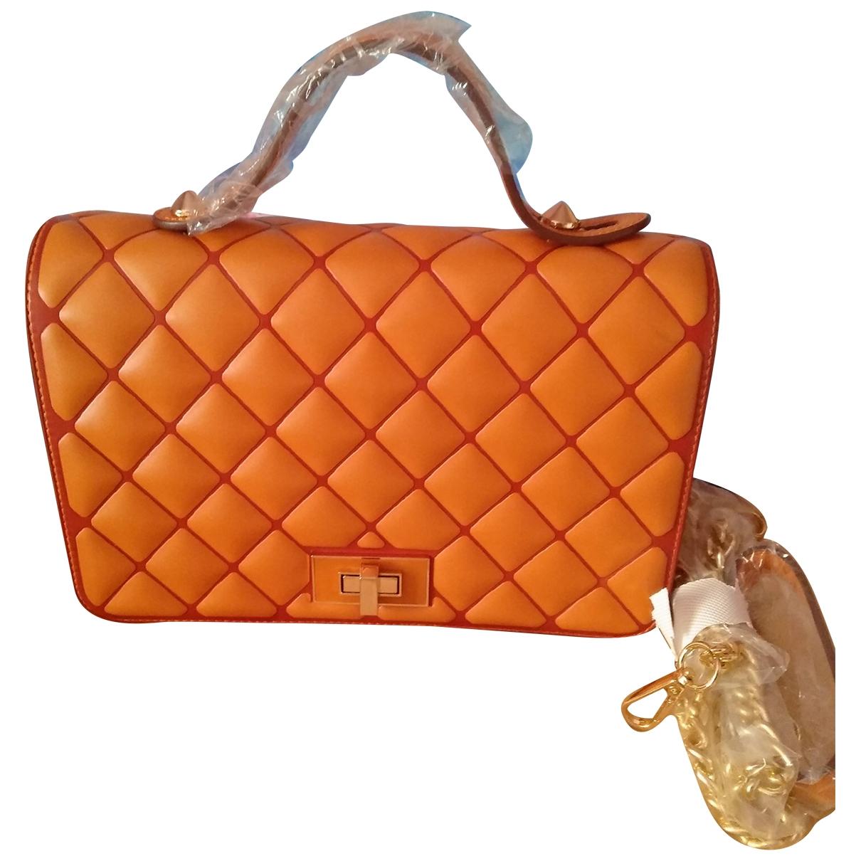 Romeo Gigli \N Orange handbag for Women \N