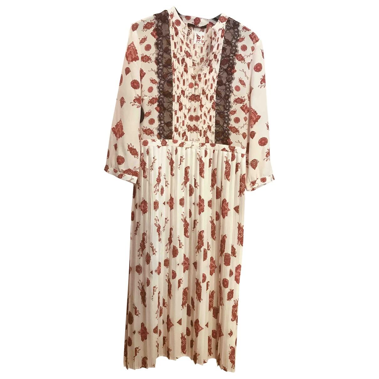 Sly010 - Robe   pour femme en soie