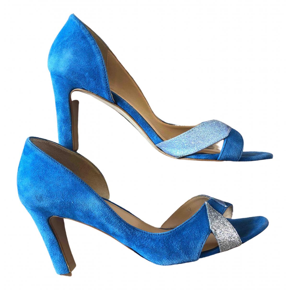 Mellow Yellow \N Blue Suede Heels for Women 39 EU