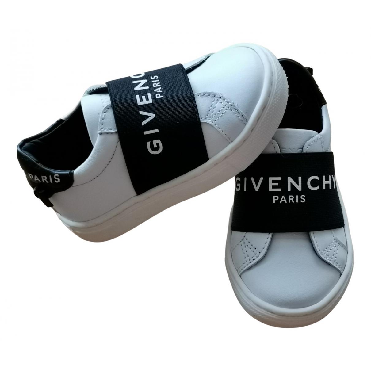 Givenchy - Baskets   pour enfant en cuir - blanc