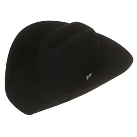 Signature Black Felt Cowboy Hats