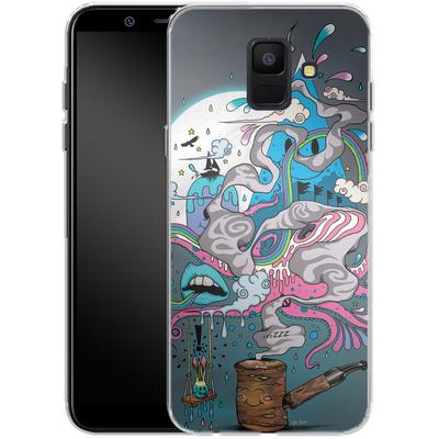 Samsung Galaxy A6 Silikon Handyhuelle - Pipe Dreams von Mat Miller