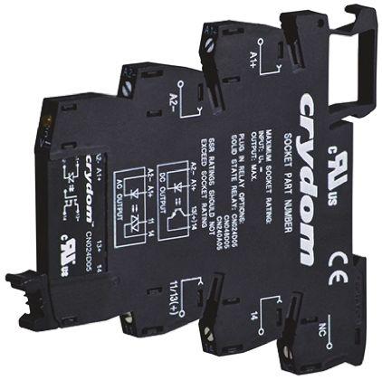 Sensata / Crydom 0.1 A Solid State Relay, Zero Cross, DIN Rail, 48 V dc Maximum Load
