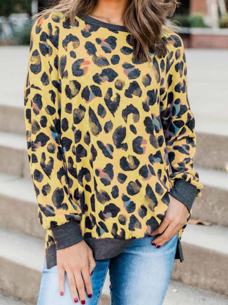 Ericdress Regular Print Long Sleeve Fall Women's Hoodie
