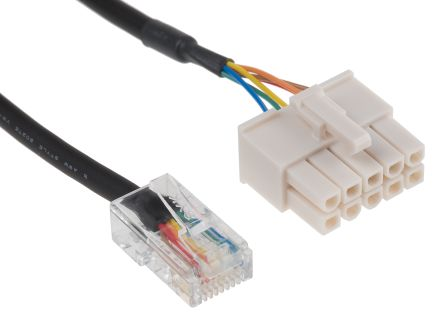 Panasonic Cable for use with MINAS-BL GP Series Brushless Motors & Amplifiers - 3m Length
