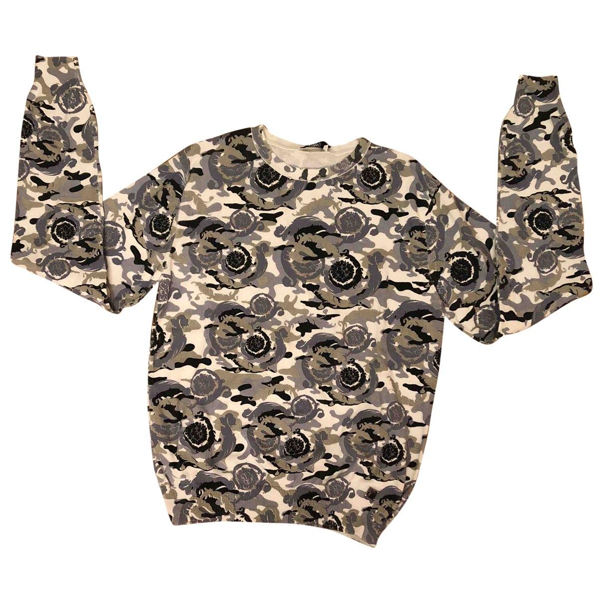 Versace - Pulls.Gilets.Sweats   pour homme en coton - multicolore