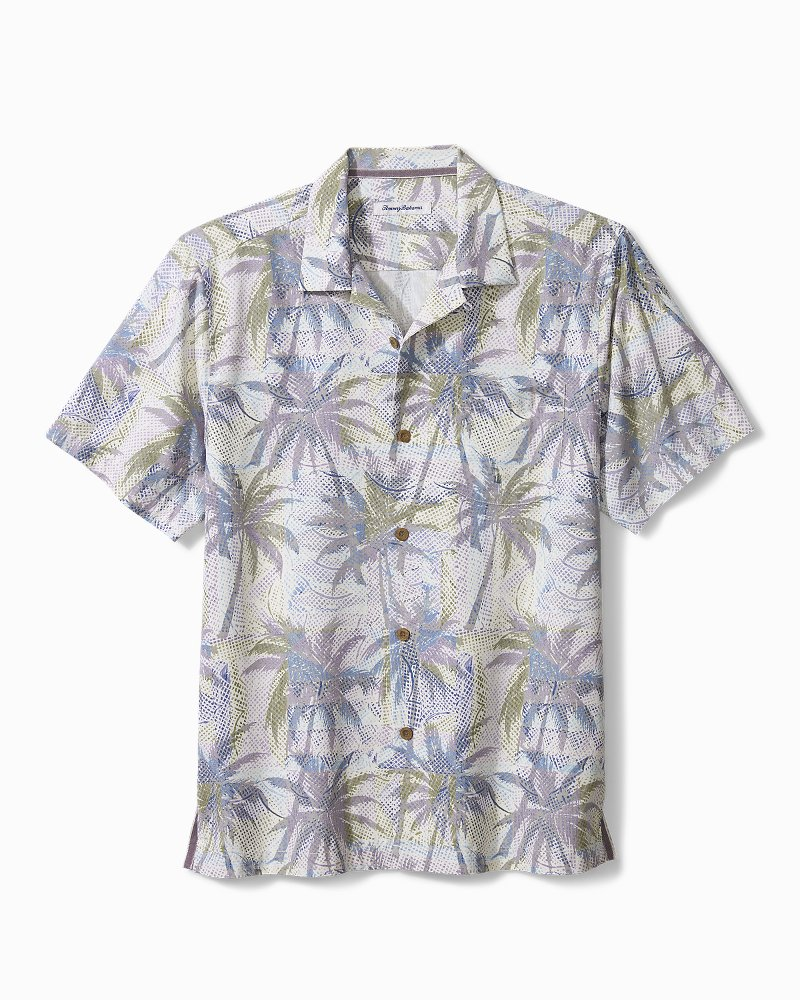 Big & Tall Palm Exposure IslandZone® Camp Shirt