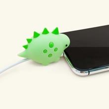 Protector de cable de dato en forma de dinosaurio
