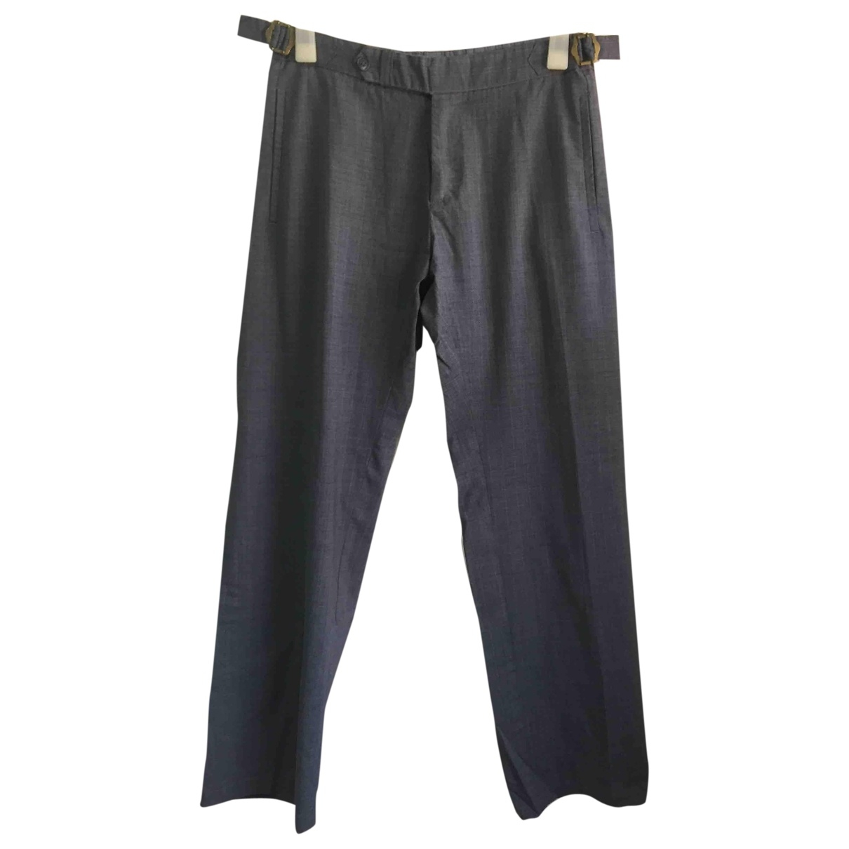 Non Signé / Unsigned \N Wool Trousers for Men 30 UK - US