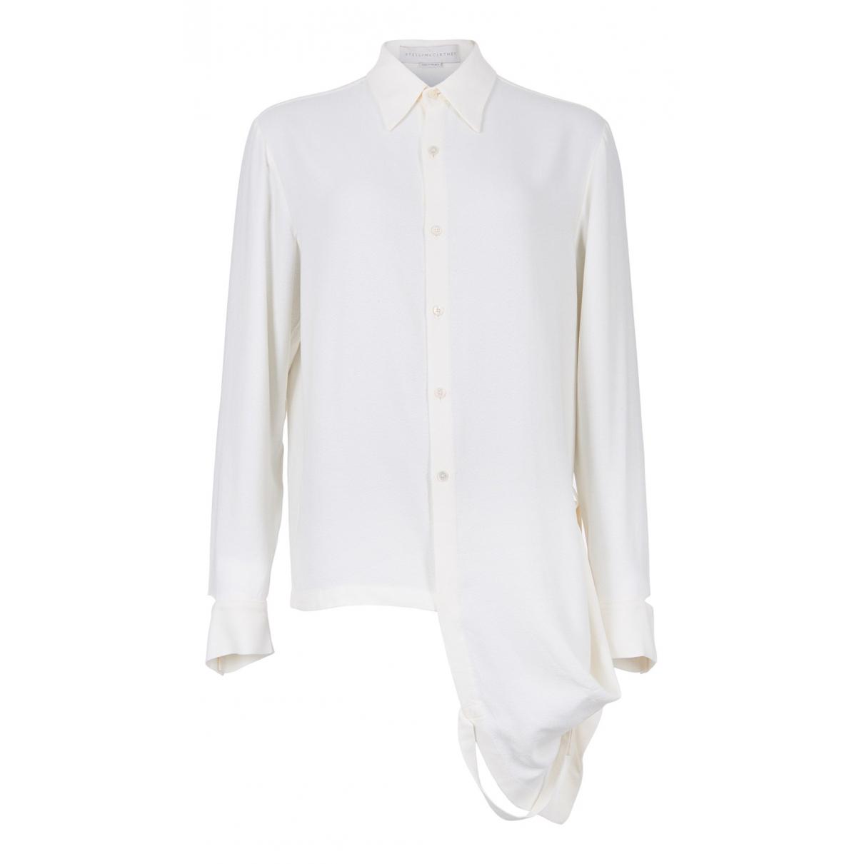 Stella Mccartney N Beige Silk  top for Women 12 UK