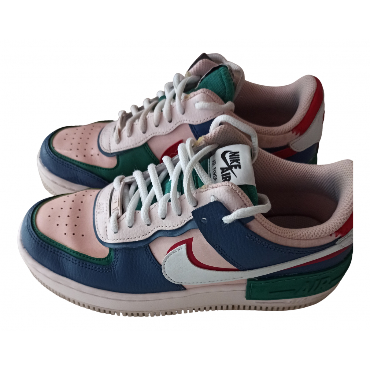 Nike Air Force 1 Sneakers in  Rosa Leder