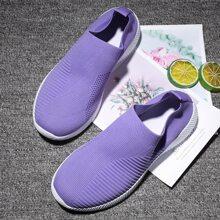 Slip On Sneakers mit weiter Passform