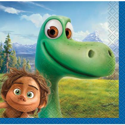 Disney The Good Dinosaur Beverage Napkins, 16ct Pour la fête d'anniversaire