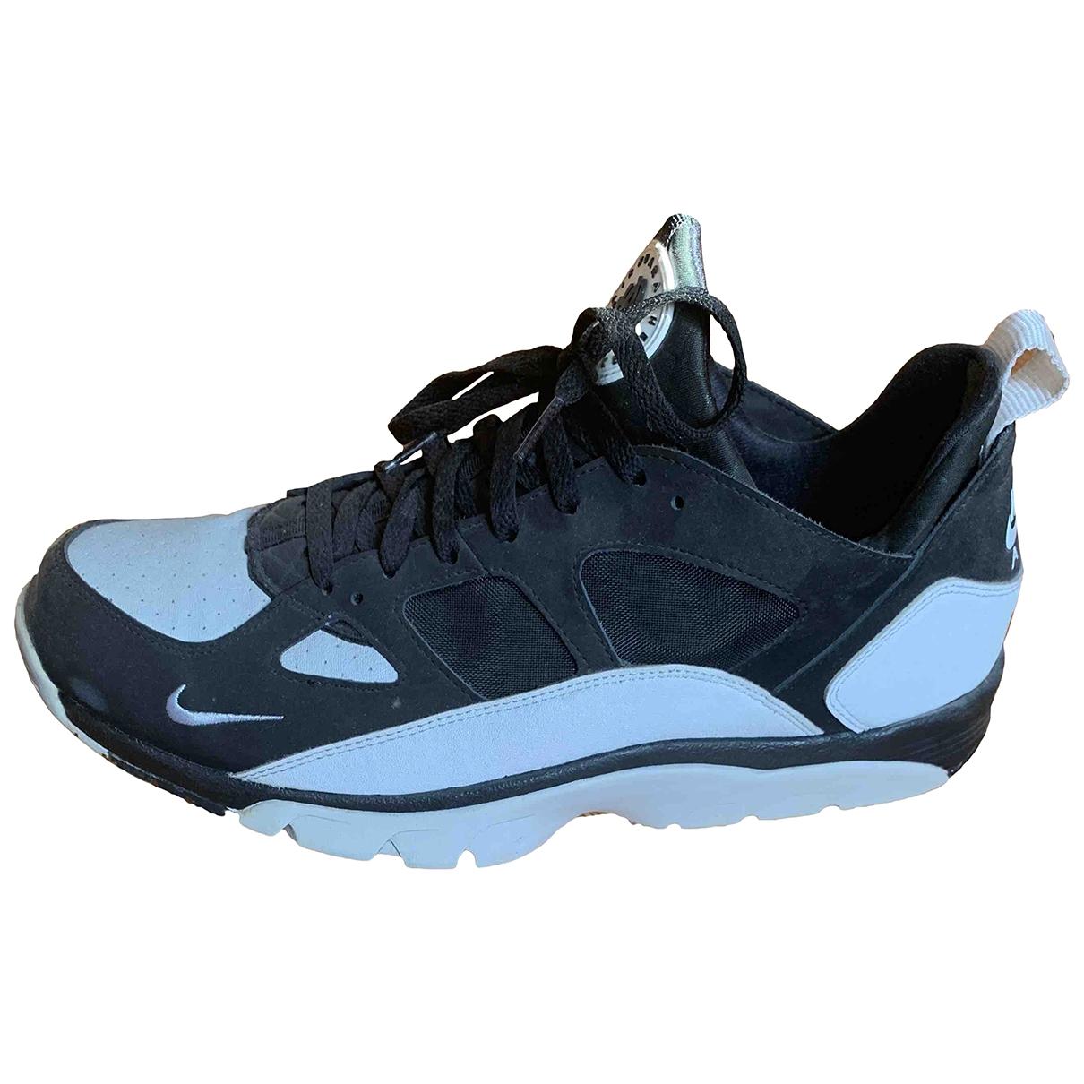 Nike Huarache Sneakers in  Schwarz Leinen