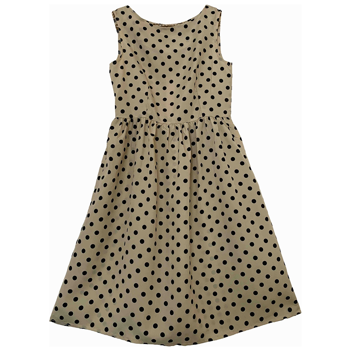 Non Signé / Unsigned \N Beige dress for Women XS International