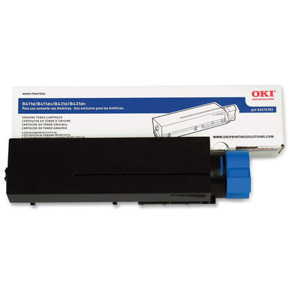 Okidata 44574701 Original Black Toner Cartridge