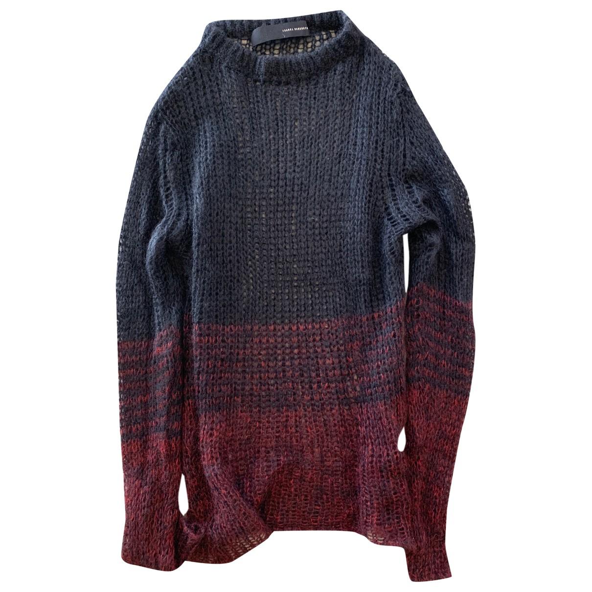 Isabel Benenato \N Pullover.Westen.Sweatshirts  in  Schwarz Wolle