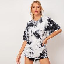Langelinie T-Shirt mit Batik