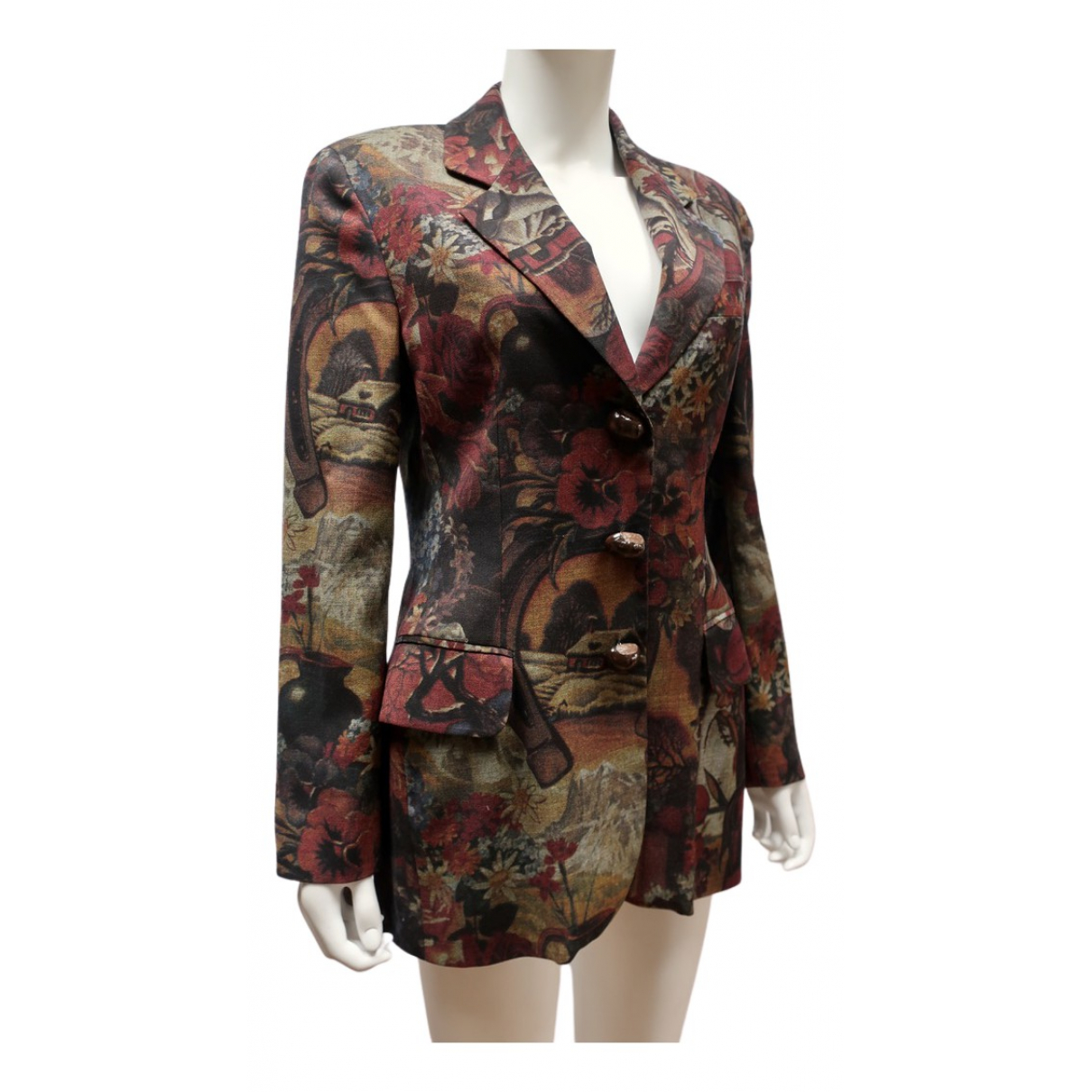 Moschino Cheap And Chic N Brown Wool jacket for Women 38 FR