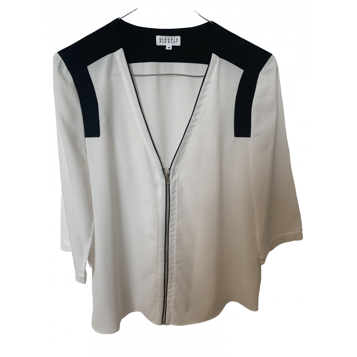 Claudie Pierlot \N Top in  Weiss Polyester