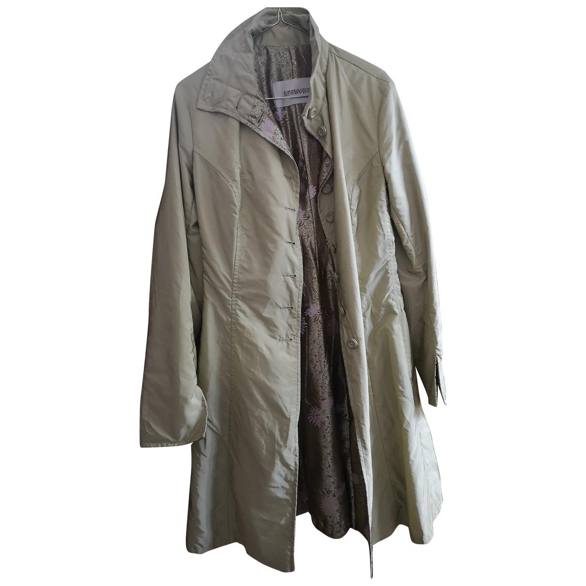 Ermanno Scervino \N Beige Trench coat for Women 42 FR