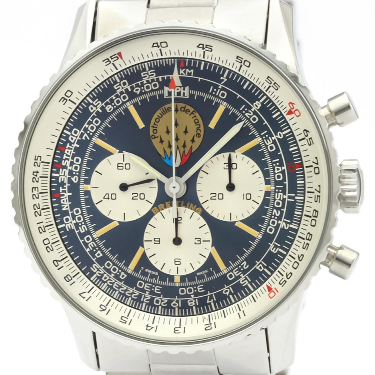 Breitling Navitimer Blue Steel watch for Men \N