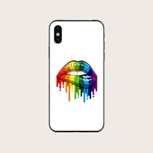 1pc Lip Print iPhone Case