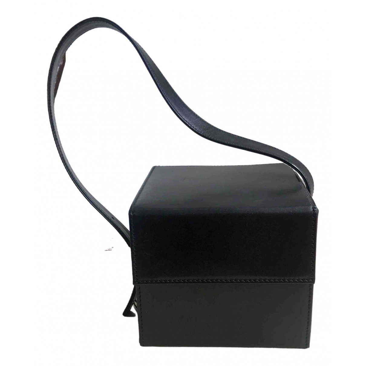 Gianfranco Ferre \N Handtasche in  Schwarz Leder