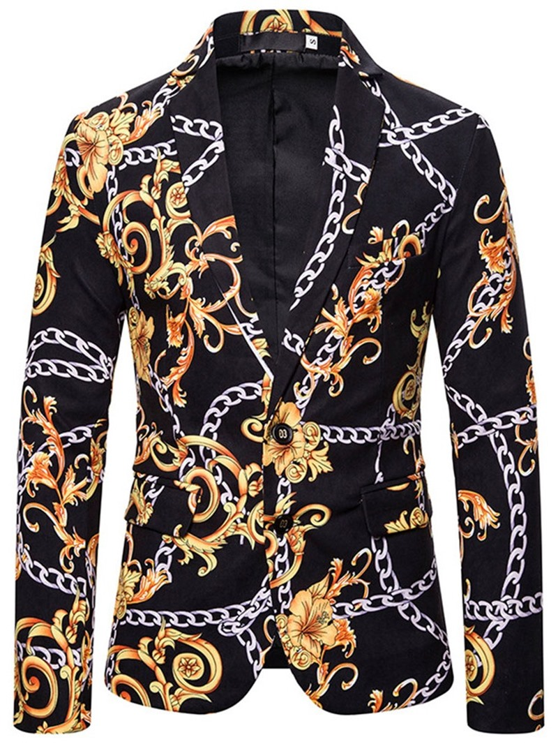 Ericdress Slim fit Suit dress Stylish Men's Leisure Blazers