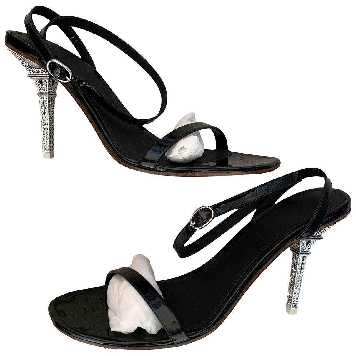 Sandalias romanas de Cuero Vetements