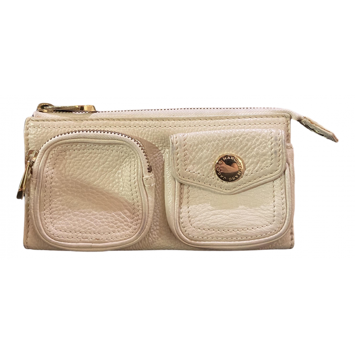 Marc By Marc Jacobs \N Beige Leather wallet for Women \N