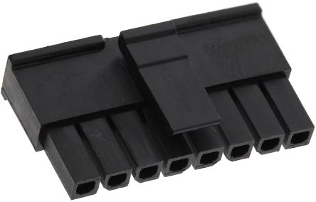 Molex , Micro-Fit 3.0 Female Connector Housing, 3mm Pitch, 8 Way, 1 Row (5)