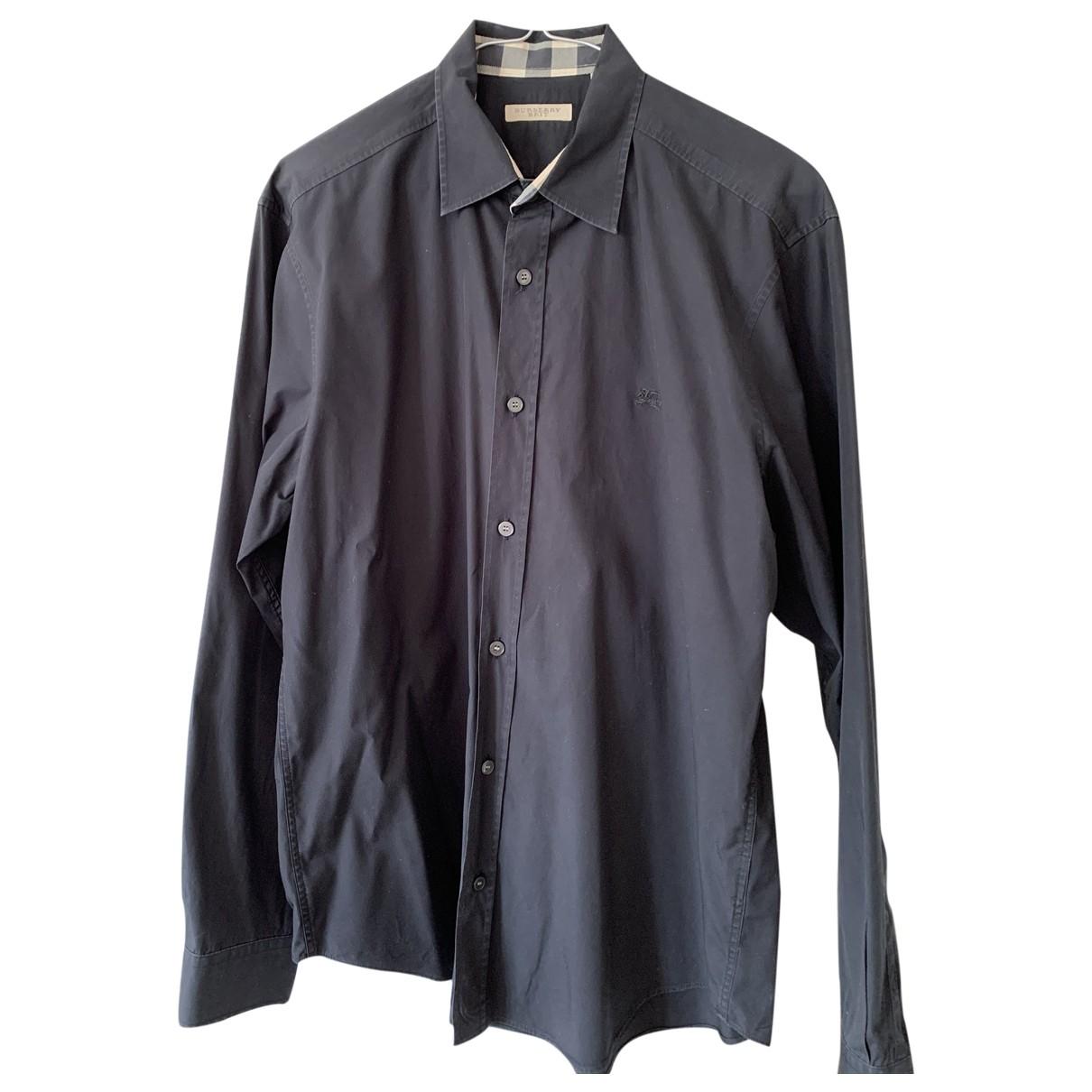 Burberry - Chemises   pour homme en coton - noir