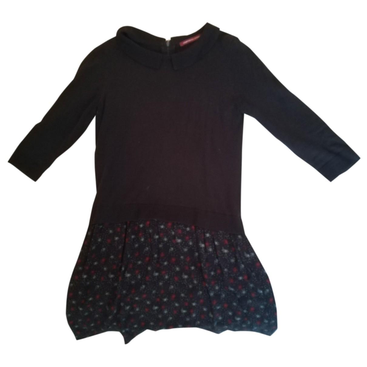 Comptoir Des Cotonniers \N Kleid in  Schwarz Baumwolle