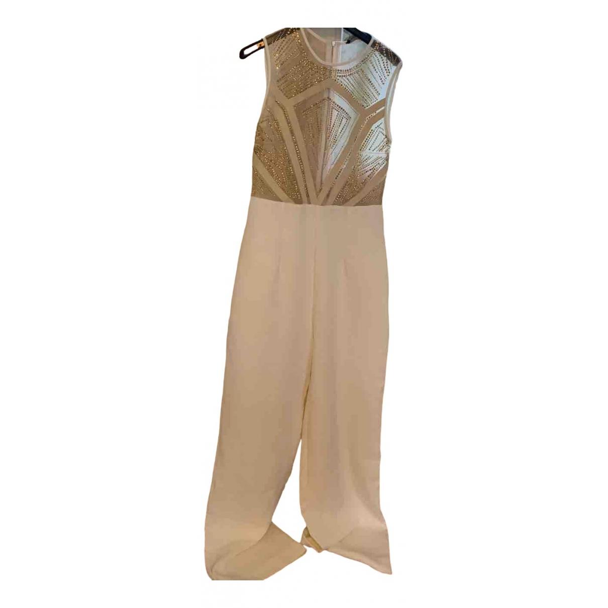 Mangano \N Kleid in  Weiss Polyester