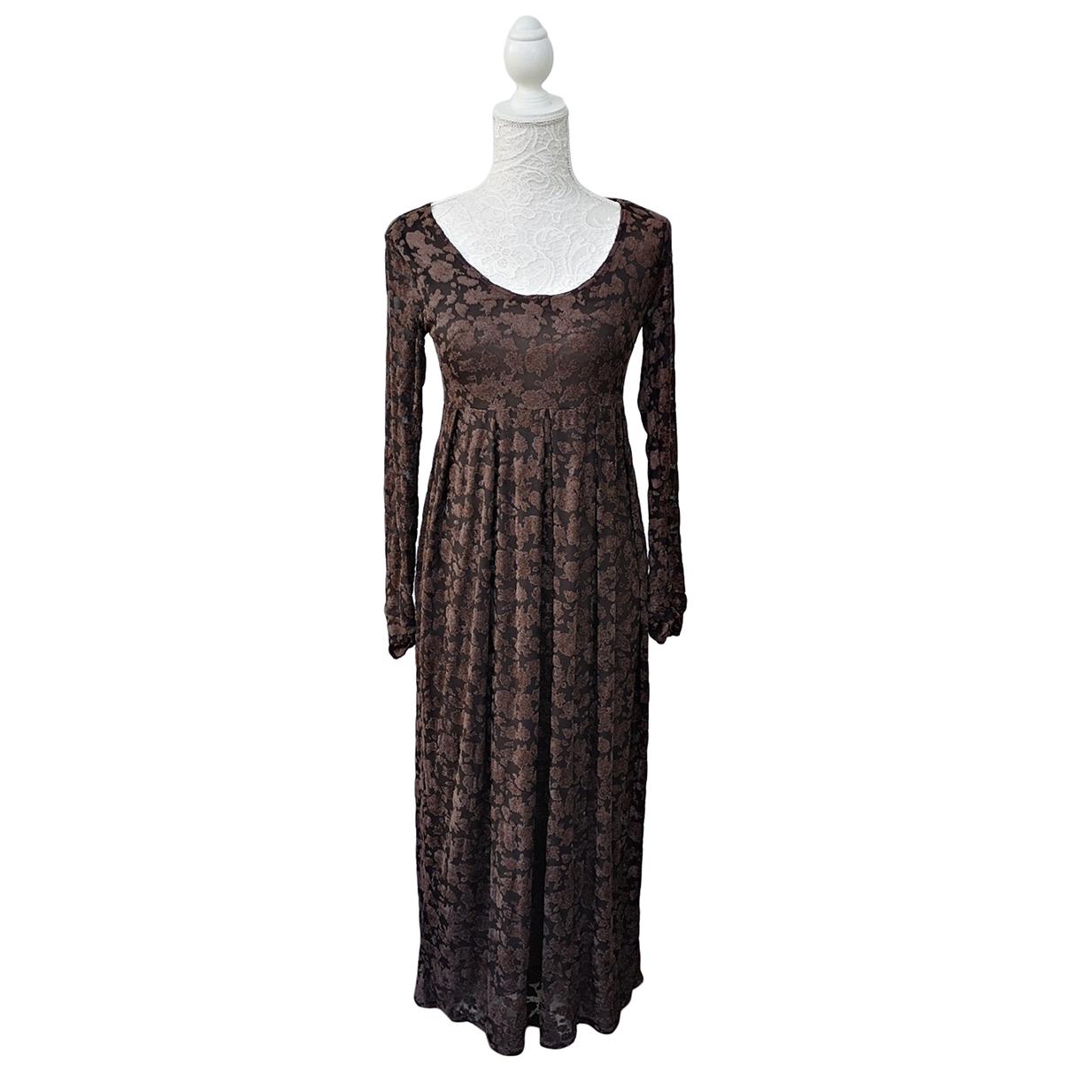 Pinko - Robe   pour femme - marron