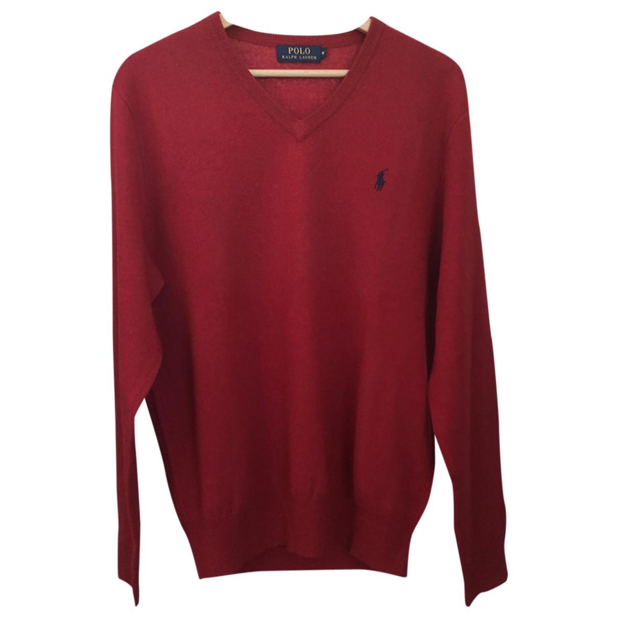 Polo Ralph Lauren \N Pullover.Westen.Sweatshirts  in  Rot Wolle