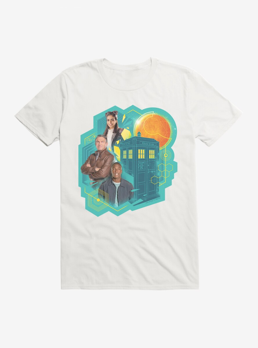 Doctor Who The Thirteenth Doctor Companions T-Shirt