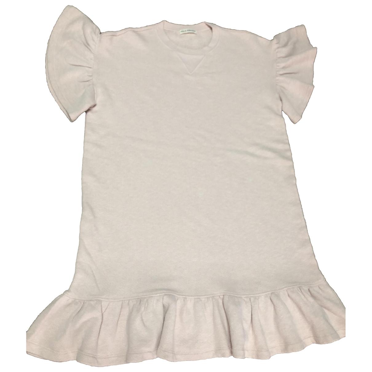 Ulla Johnson \N Kleid in  Rosa Baumwolle