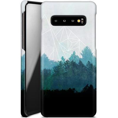 Samsung Galaxy S10 Smartphone Huelle - Woods Abstract von Mareike Bohmer