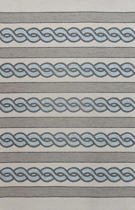 350176 8' x 11' UV-treated Polypropylene Ivory/Spa Area