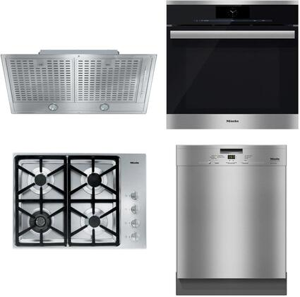 4-Piece Kitchen Appliances Package with KM3464LP 30