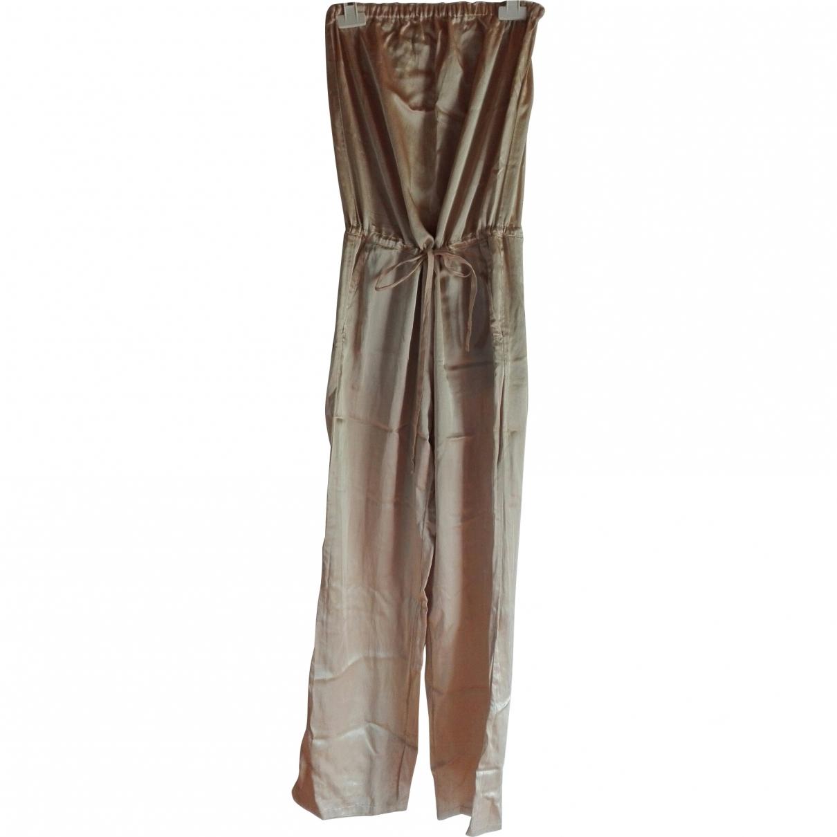 Mm6 \N Gold jumpsuit for Women 40 FR