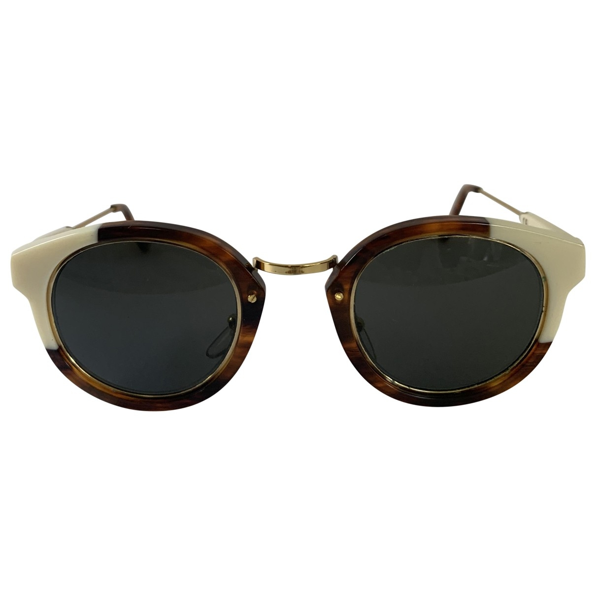 Retrosuperfuture \N Brown Sunglasses for Women \N