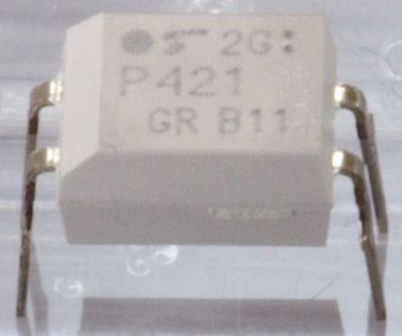 Toshiba , TLP620-2(GB,F) AC Input Transistor Output Dual Optocoupler, Through Hole, 8-Pin PDIP