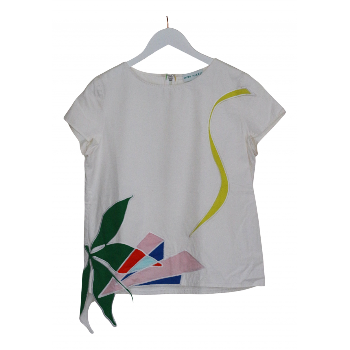 Mira Mikati \N White Cotton  top for Women 10 UK