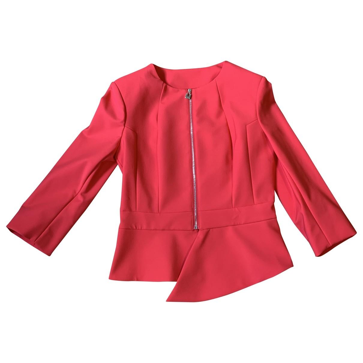 Elisabetta Franchi \N Red jacket for Women 44 IT